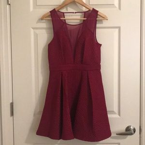 BCBG Crushed Berry Cocktail Dress NWT